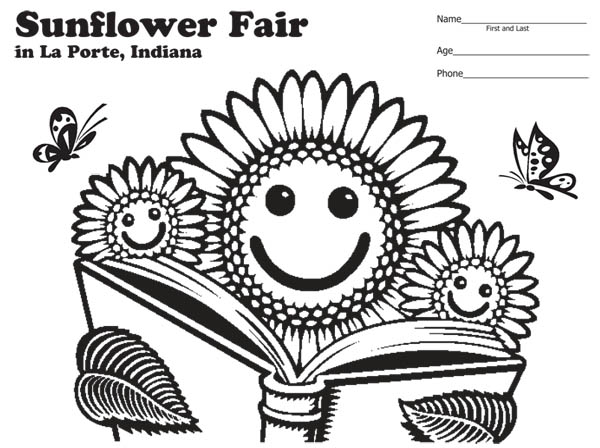 iowa state fair coloring pages - photo#31